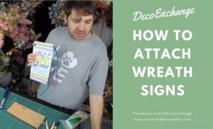 Simple Ways to Attach Wreath Signs