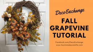 Fall Grapevine Wreath