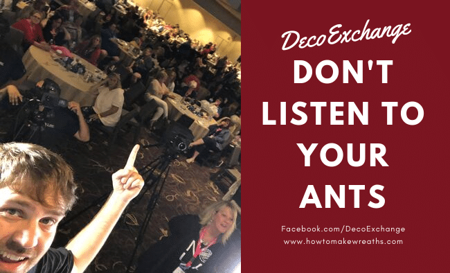 Don't Listen To Your Ants