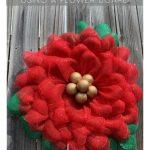 do it yourself poinsettia wreath