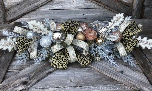 mini DIY tree centerpieces tutorial image