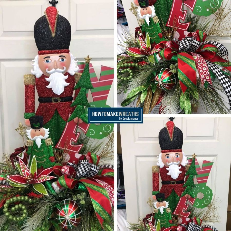 DIY Christmas Centerpiece Tutorial Video (1)