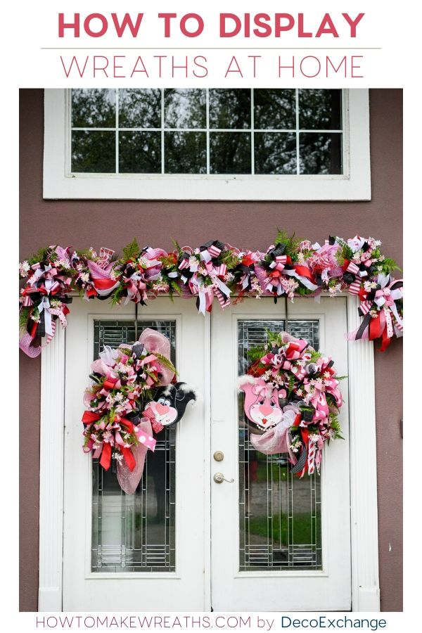 How to Display Wreaths at Home