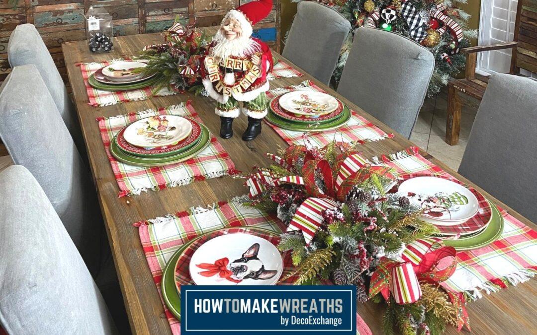 How to Make a Simple DIY Christmas Centerpiece