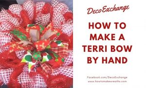 Terri bow by hand tutorial