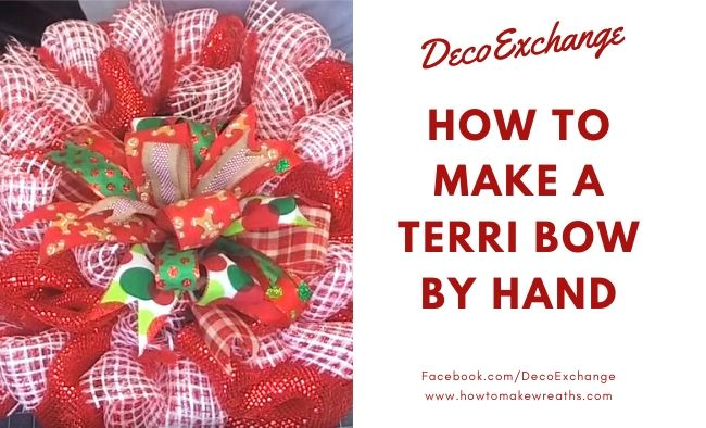 How to Make A Terri Bow By Hand