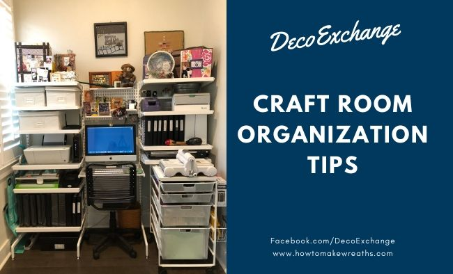 Ultimate Collection of Craft Room Organization & Storage Ideas