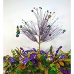 DIY Mardi Gras Centerpiece - Video Tutorial