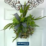 quick and easy birch wreath