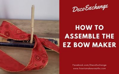 How to Assemble the EZ Bow Maker
