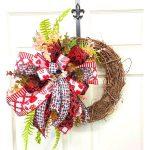 DIY Valentine's Grapevine Wreath
