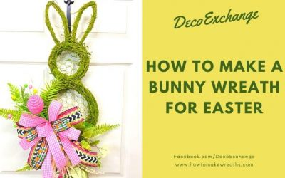 How To Make An Easter Bunny Wreath