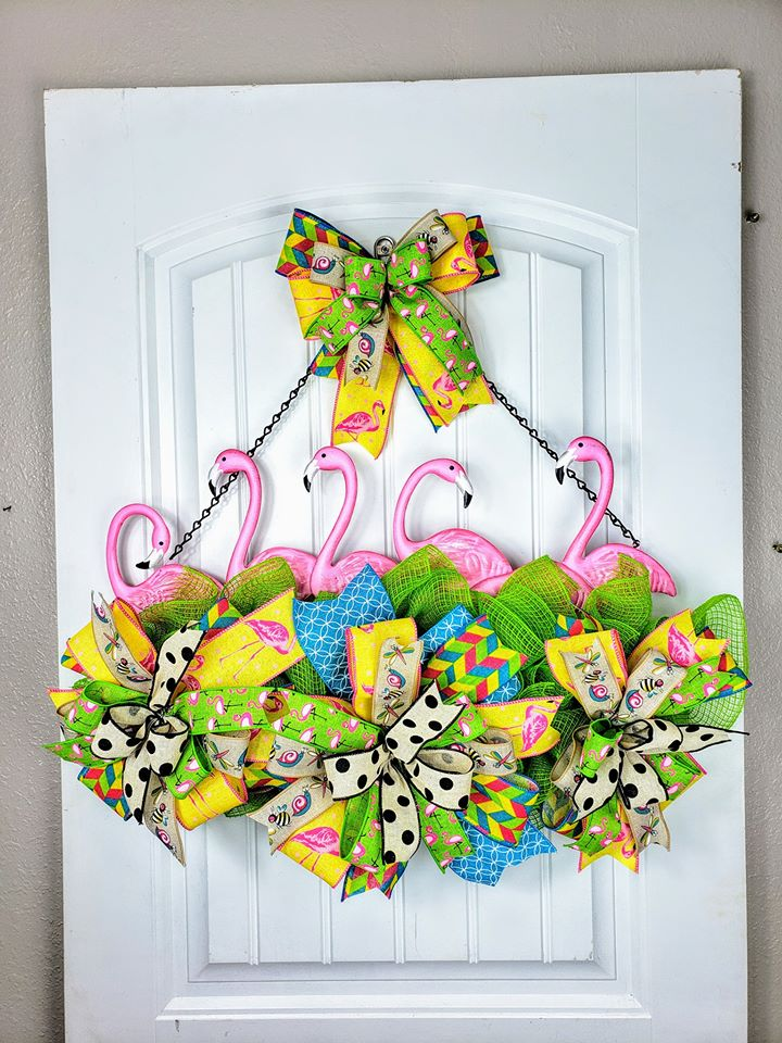 Kelly Hedberg Bride Spring Door Hanger - Spring Street Craftz