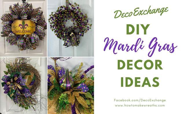 DIY Mardi Gras Decor Ideas