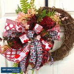Valentine's Day Grapevine Wreath