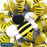 yellow and black stuffed bumblebee