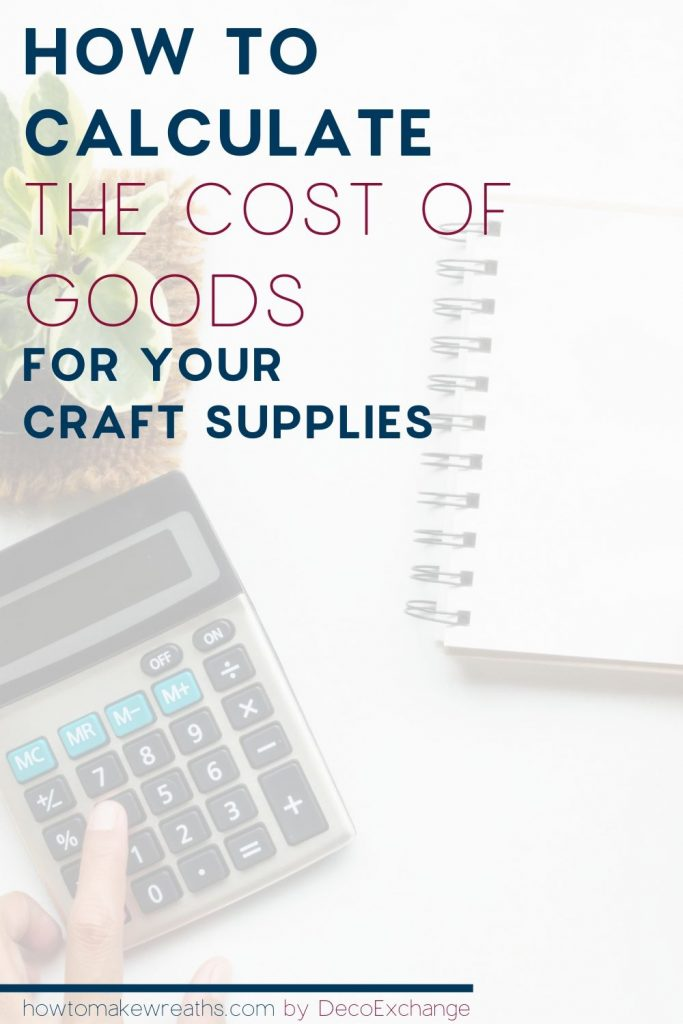 how to determine cost of goods pin image