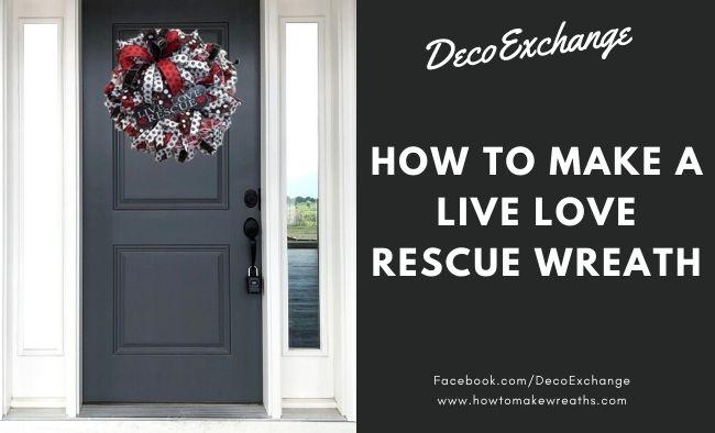 DIY Rescue Dog Wreath