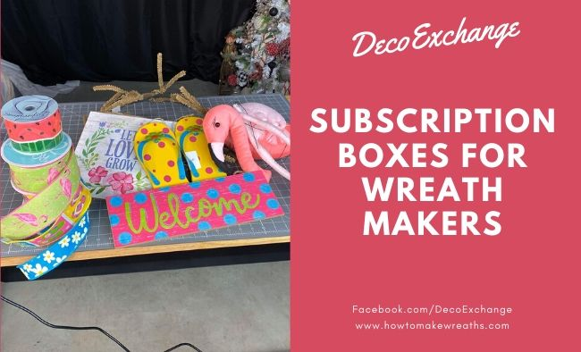 What are the DecoExchange Monthly Subscription Boxes?