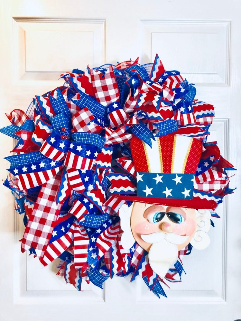 The Bear Creek Patriotic Wreath
