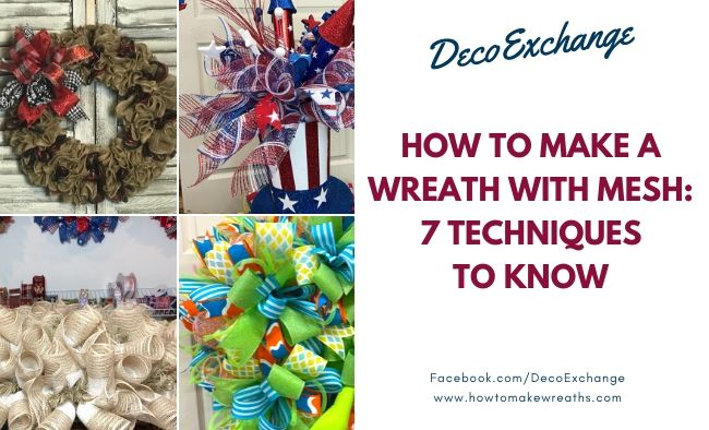 How to Make a Wreath with Mesh – 7 Techniques to Know