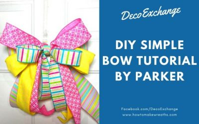 Simple Bow Tutorial by Parker