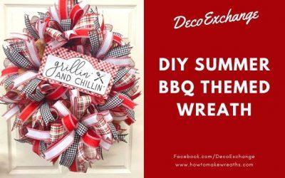 DIY Summer Wreath: Grillin' and Chillin'
