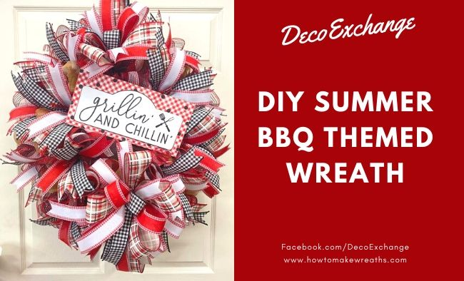 DIY Summer Wreath: Grillin' and Chillin'