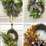 Decorating a grapevine with greenery