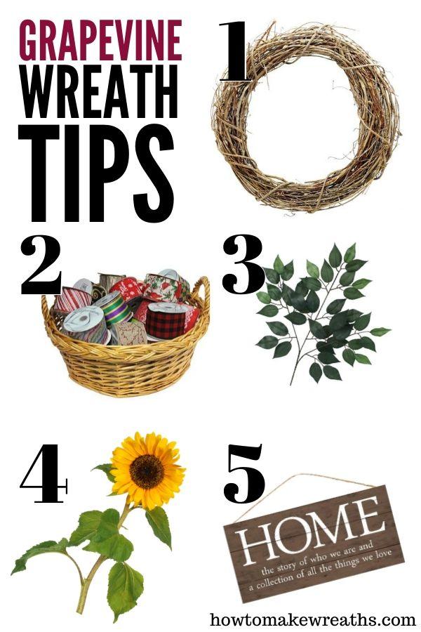 wreath decorating supplies