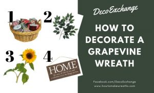 How to Decorate a Grapevine Wreath Base