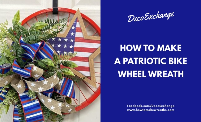How to Make a Patriotic Red Bike Wheel