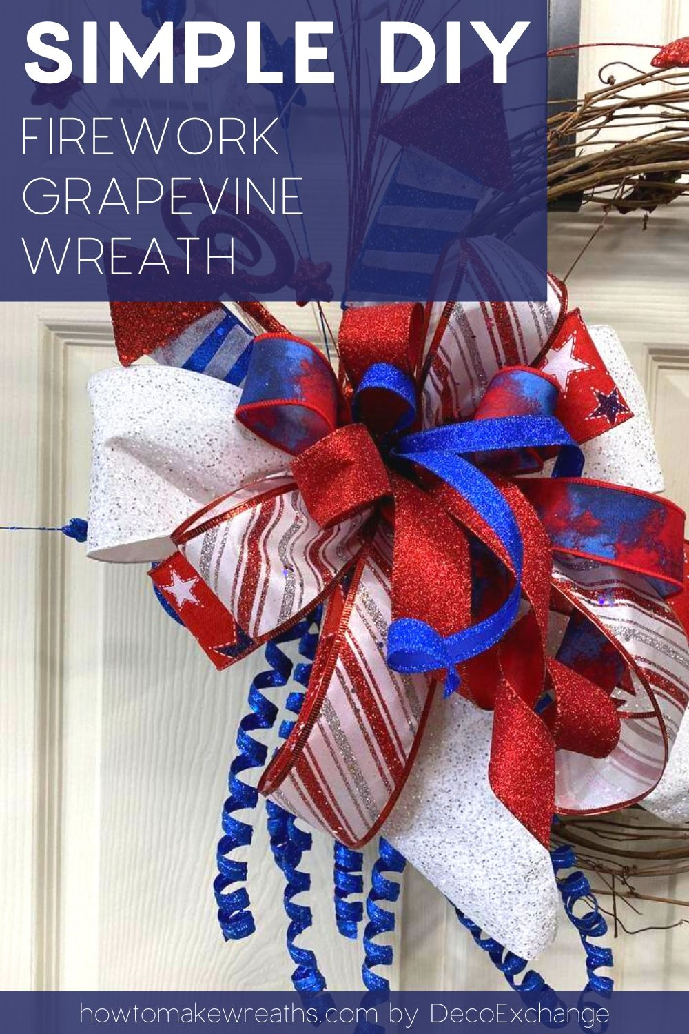 simple bow, grapevine