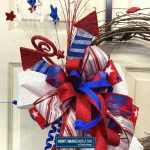 diy stars, firecracker, bow, grapevine