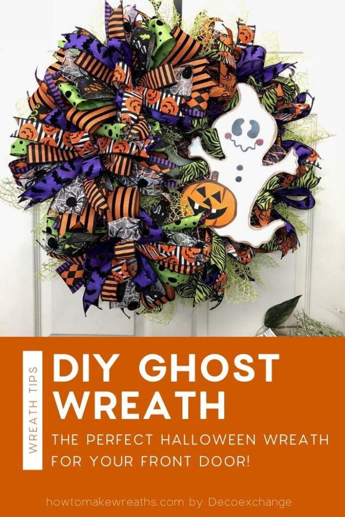 Wreath with ghost attachment