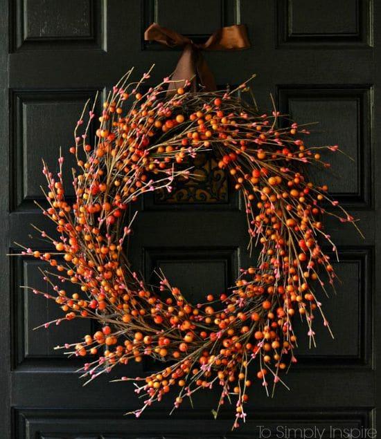 berry grapevine wreath