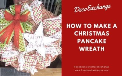 How to Make a Christmas Pancake Wreath