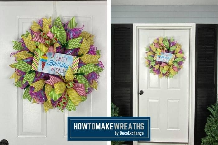 How to Make a Birthday Wreath