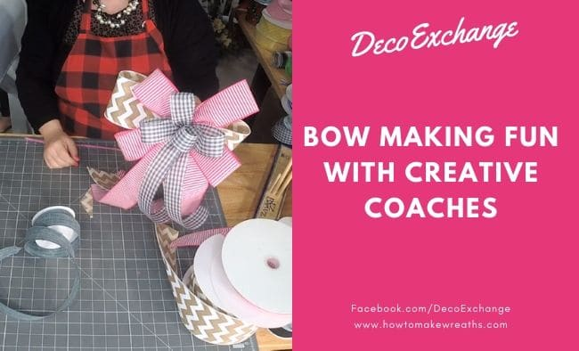 Bow Making Fun with the Creative Coaches