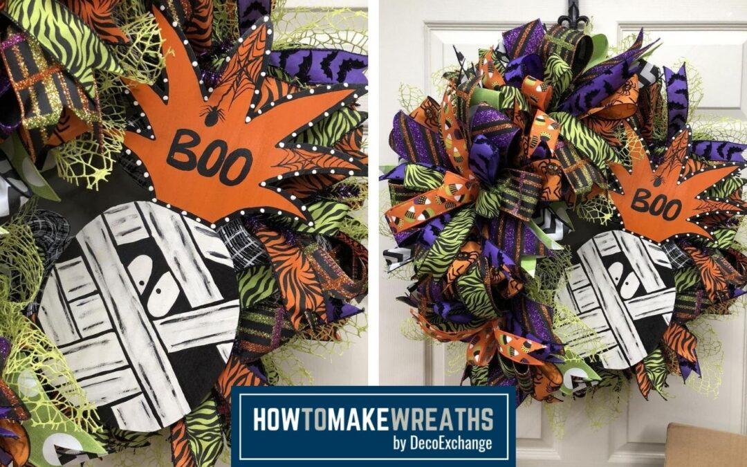 How to Make a Mummy Wreath