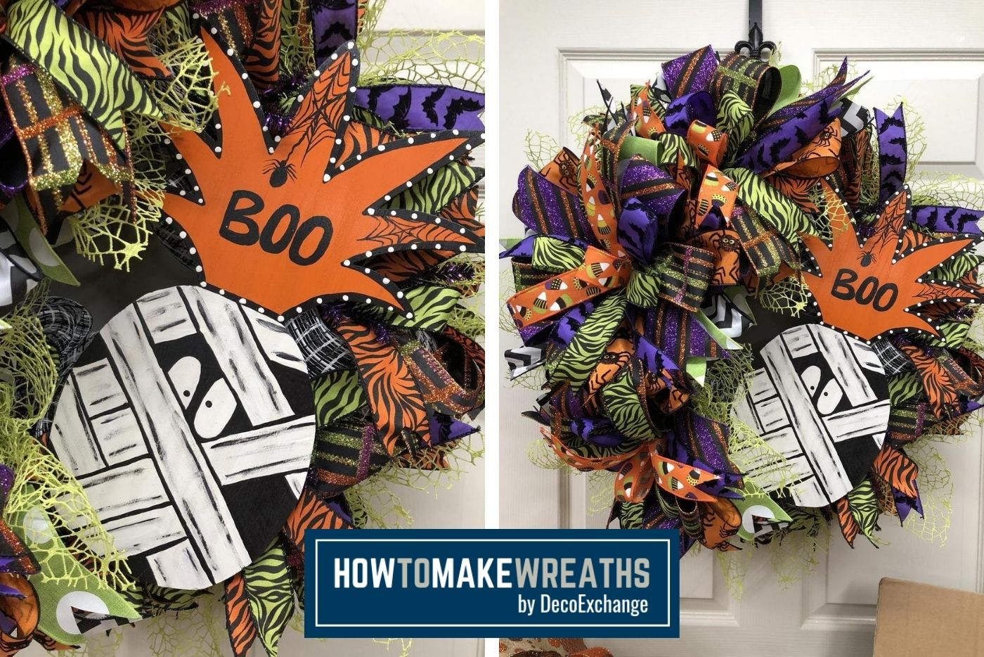 How To Make A Mummy Wreath How To Make Wreaths Wreath Making For Craftpreneurs