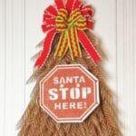 Do It Yourself Christmas Tree Wreath