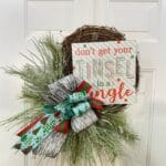 How to Make a Christmas Grapevine Wreath