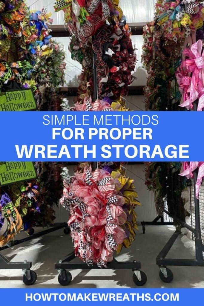 Simple Methods for Storing Your Wreaths