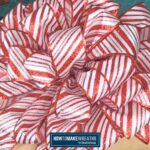 Christmas Red and White Tree Bow Topper