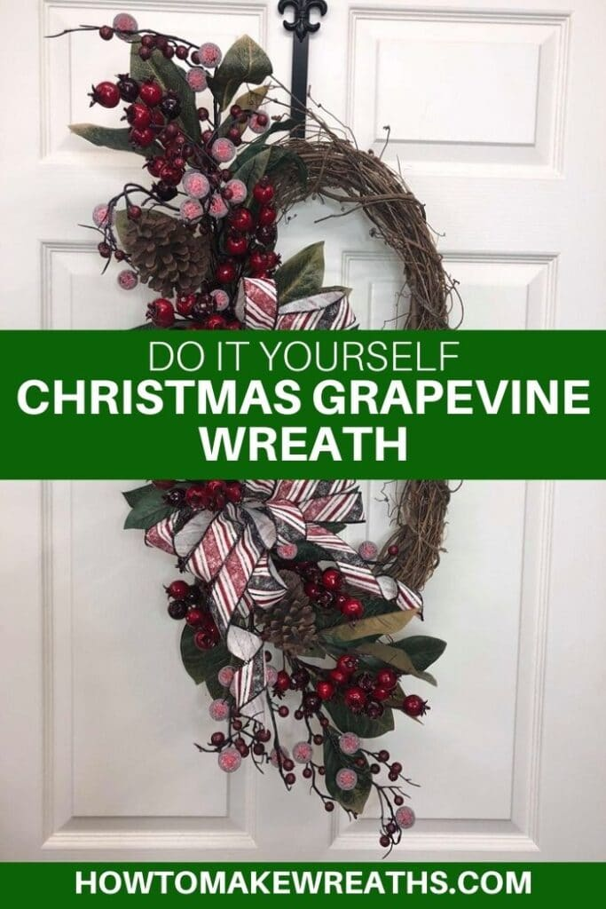Do It Yourself Christmas Grapevine Wreath