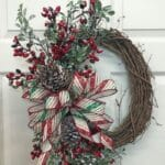 How to Make a Simple Christmas Grapevine Wreath