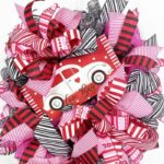 How to Make a Valentine Love Bug Wreath