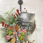 Make Your Own Bark Less Wag More Grapevine Wreath