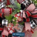 Valentine's Day Wreath Bow